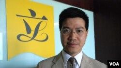 香港立法會議員范國威表示,港府應該取消一簽多行及檢討大陸自由行旅客的人次,以解決水貨客猖獗的問題 (美國之音湯惠芸拍攝)