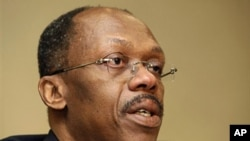 Former Haitian President Jean-Bertrand Aristide (file photo)