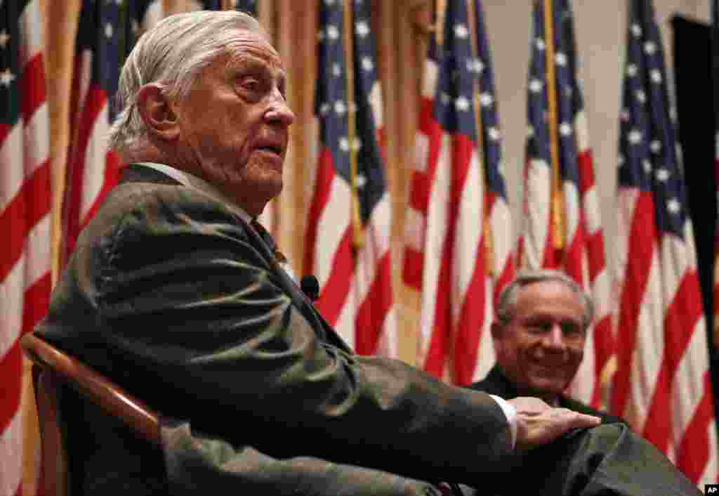 Ben Bradlee, mantan direktuf eksekutif harian Washington Post.