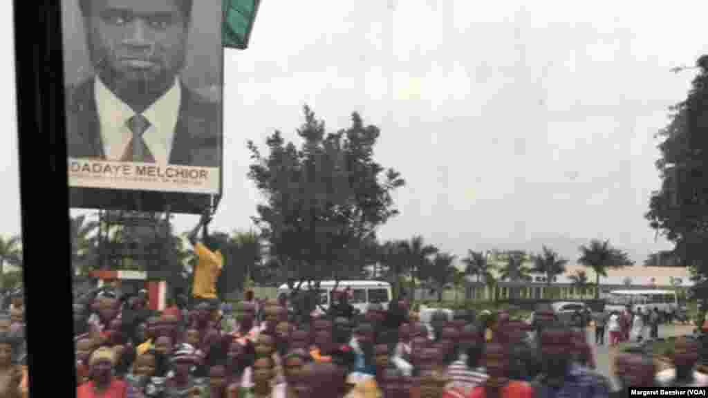 Taron Jama'a a Bujumbura, babban birnin Burundi.