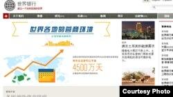 world bank web site