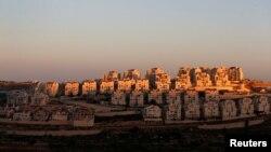 Permukiman Israel 'Efrat' di Tepi Barat, 7 Februari 2017.
