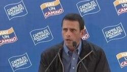 Capriles asegura lleva la delantera