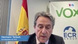 Eurodiputado de VOX, Hermann Tertsch
