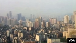 山城重庆(美国之音视频截图)