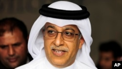 Apparution sur la photo de Sheikh Salman bin Ibrahim Al Khalifa, en avril 30, 2015, photo. (AP Photo/Hasan Jamali, file)