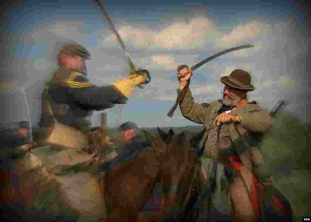 Схватка кавалеристов