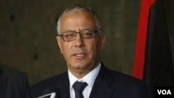 علی زيدان، نخست وزير ليبی