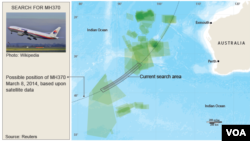 Search continues for Malaysia Flight MH370, April 16, 2015