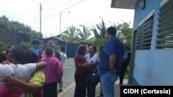 Once detenidos en Nicaragua han sido liberados anunció la CIDH.