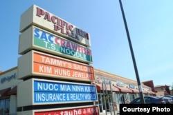 Cửa hàng Việt ở Sacramento (ảnh Bùi Văn Phú)