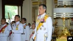 Hoàng Thái tử Thái Lan Vajiralongkorn.