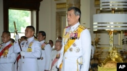 Putra Mahkota Thailand Pangeran Maha Vajiralongkorn
