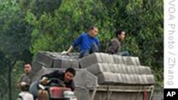 尘肺病威胁中国农民工健康