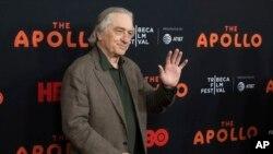 رابرت دنیرو در جشنواره فیلم ترایبکا - ۲۴ آوریل ۲۰۱۹
