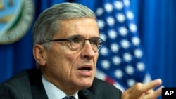 FILE -- FCC Chairman Tom Wheeler..