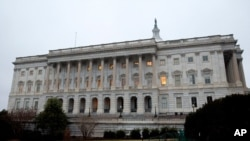 The House of Representatives stands at the U.S. Capitol congress Building in Washington