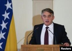 Obraćanje Željka Komšića nakon polaganja svečane zakletve za novi saziv Predsjedništva BiH, Sarajevo, 20. novembar 2018.