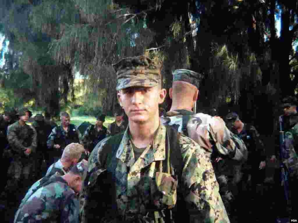 Murad Rəhimov, ABŞ-ın Havay adalarında hərbi bazası.