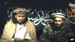 حکیم اللہ کی ایک پرانی وڈیو جس میں وہ خوست میں خودکش حملہ کرنے والے حملہ آور کے ساتھ بیٹھا ہے۔