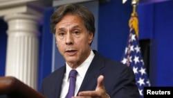 Phó Ngoại trưởng Hoa Kỳ Tony Blinken nói điều quan trọng là duy trì biện pháp chế tài cho tới khi nào Bình Nhưỡng chứng tỏ sự nghiêm túc muốn nối lại đàm phán sáu bên về vấn đề giải trừ hạt nhân