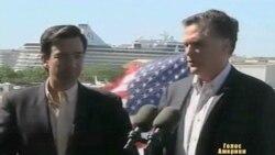 Ромні і Санторум борються за голоси Іллінойсу