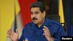 El presidente Nicolás Maduro ha dicho que Hugo Carvajal estaba en Aruba como diplomático.