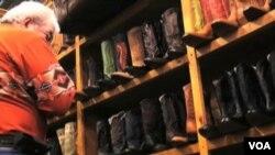 Prodavnica kaubojskih čizama u Houstonu