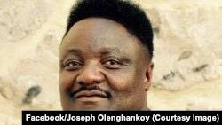 Joseph Olenghankoy, président d'une des branches du Rassemblement, principale plateforme de l'opposition en RDC, a été désigné, Kinshasa, RDC, 2017. (Facebook/Joseph Olenghnakoy)