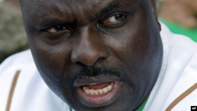 Former governor of Nigeria's oil rich Delta State James Ibori pictured in this undated, file photo.
