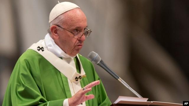 Paus Fransiskus akan melakukan kunjungan ke tiga negara Afrika akhir bulan ini (foto: dok).