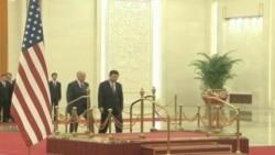 کۆبوونهوهی جۆ بایدن جێگری سهرۆکی ئهمهریکا لهگهڵ جێـگری سهرۆکی چین