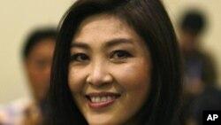泰国前总理英拉(资料照片)