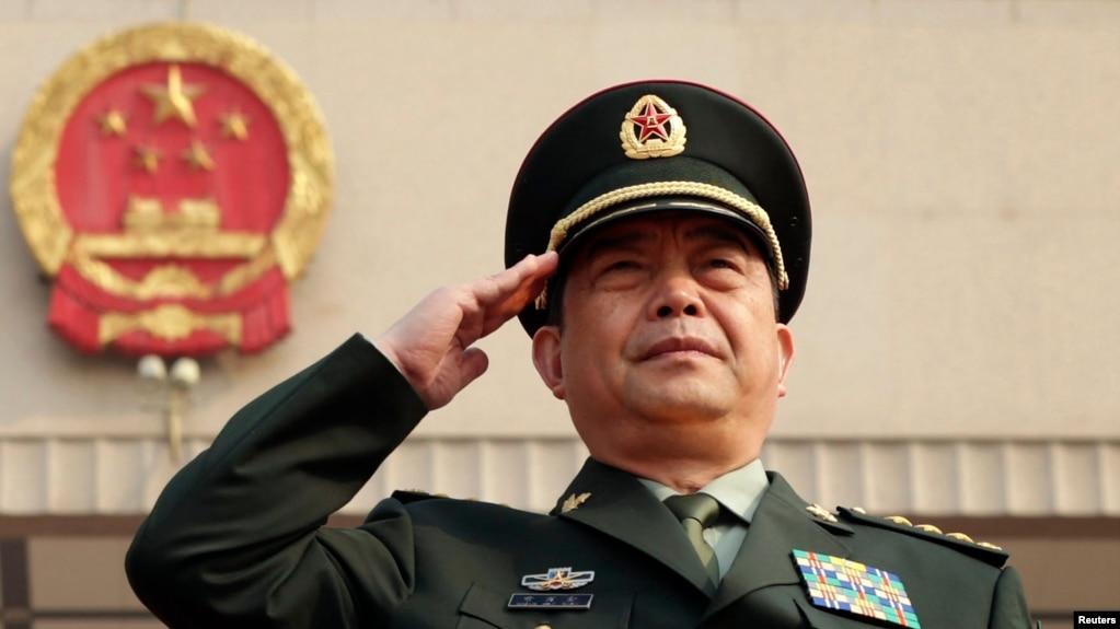 Bộ trưởng Quốc phòng Trung Quốc Thường Vạn Toàn.