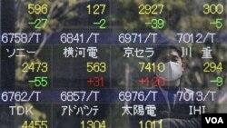 Indeks Nikkei di Tokyo naik lebih dari 3,5 persen sebelum tengah hari, Selasa (21/3).