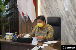 Menteri Koordinator Bidang Perekonomian Airlangga Hartarto. (Foto: Kemenko Perekonomian)