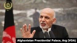 Presiden Afghanistan Ashraf Ghani, yang berasal dari suku Ahmadzai.