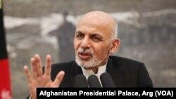 رئیس جمهور افغانستان به تجدید مشارکت میان امریکا، افغانستان و سایر کشورها تاکید کرد
