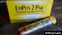 EpiPen, obat alergi darurat produksi pabrik obat Mylan (foto: dok).