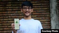 Muhammad Faiz Ghifari, pembuat aplikasi #ButuhDriver (dok. pribadi).