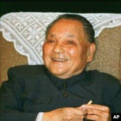 Ông Đặng Tiểu Bình tại Bắc Kinh (Ảnh tư liệu: 13/10/1988)