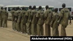 'Yan Boko Haram da suka tuba suna samun koyaswa a sansanin dake Gobe