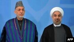 روحانی به روز یکشنبه از کرزی در قصر سعد آباد استقبال کرد