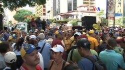 Oposición venezolana exige respeto a la protesta