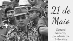 A 21 de Maio de 1998, Suharto abandonou o poder na Indonésia