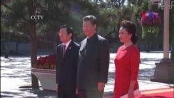 Chủ tịch Sang dự duyệt binh ở Trung Quốc, đề cập biển Đông