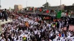 2015-05-26 美國之音視頻新聞:沙特數萬人出席什葉派穆斯林受害者葬禮