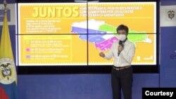 La alcaldesa de Bogotá, Claudia López, ha defendido la tesis de que frente a la reapertura económica, primero están la salud y la vida de la población. [Foto: Alcaldía de Bogotá].