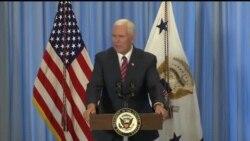 副总统彭斯称川普政府致力重建军队原声视频(美国海军视频)