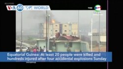 VOA60 Addunyaa - Equatorial Guinea: At least 200 dead, 600 wounded in a series of explosions at a military barracks